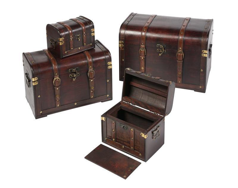 Chester Antiqued Wood Pet And Equine Ashes Casket